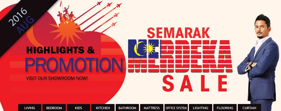 Merdeka Sales 2016
