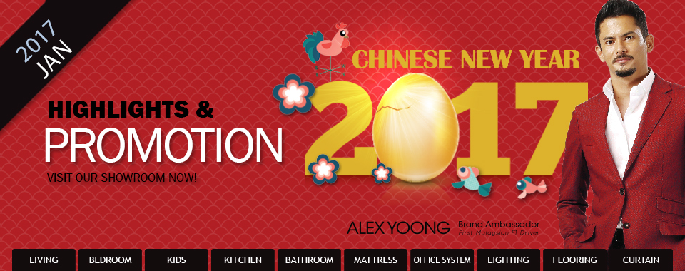 Let the count down begin. Chinese New Year sale on now!
