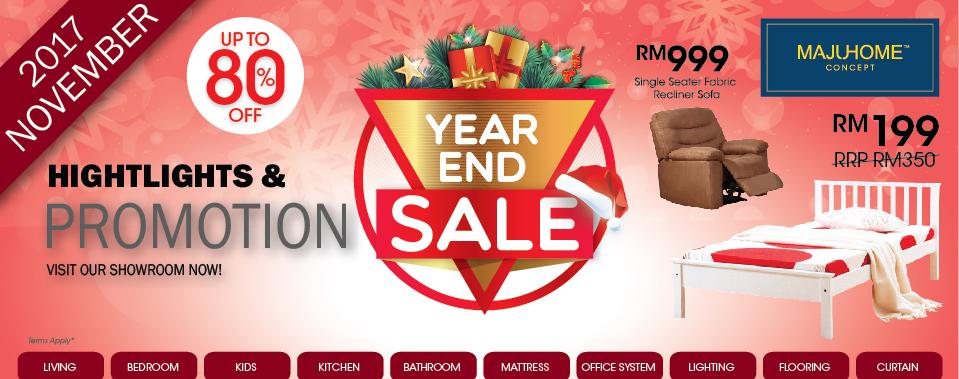 Year End Sale 2017 - Reward Yourself Now!