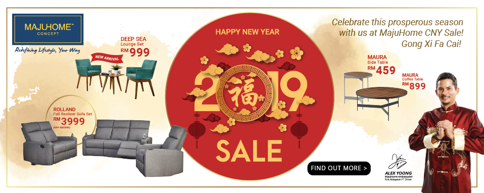 MajuHome\'s Chinese New Year Sale is back!