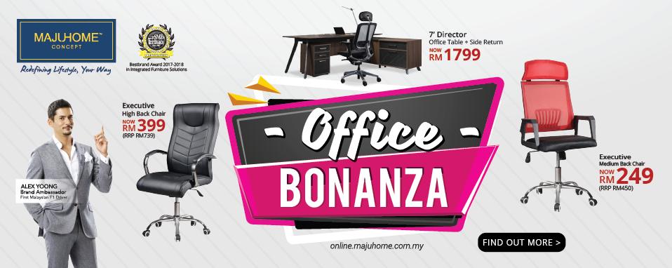 MajuHome\'s Office Bonanza Sale is back!