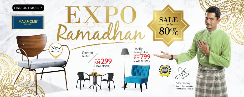 It's MajuHome's 'Expo Ramadhan' Sale!