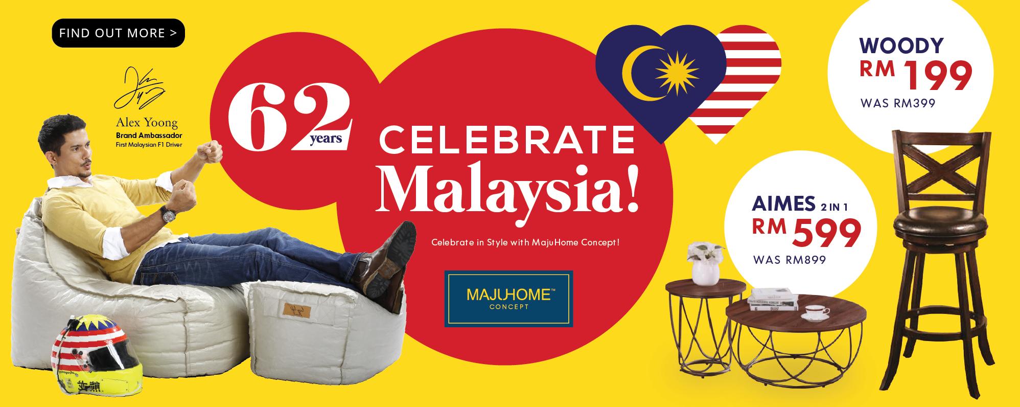MajuHome\'s Celebrate Malaysia Sale!
