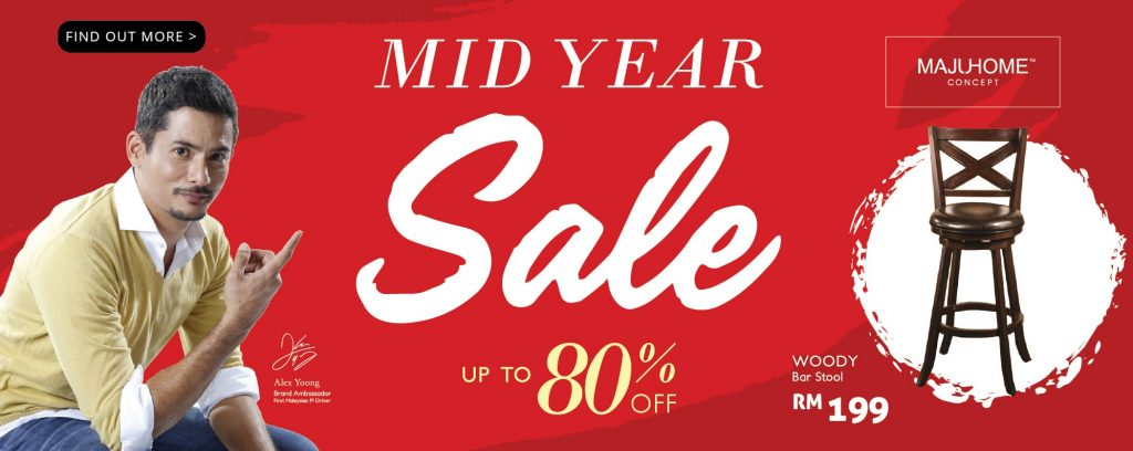 It's MajuHome's Mid Year Sale!