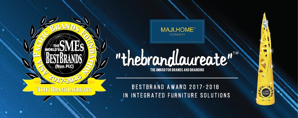 Winner of Bestbrand Award 2017-2018 in Integrated Furniture Solutions